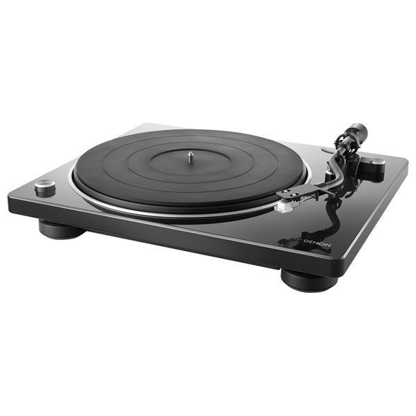 DENON レコードプレーヤー デザインシリーズ ブラック DP400BKEM [DP400BKEM]【JNSP】