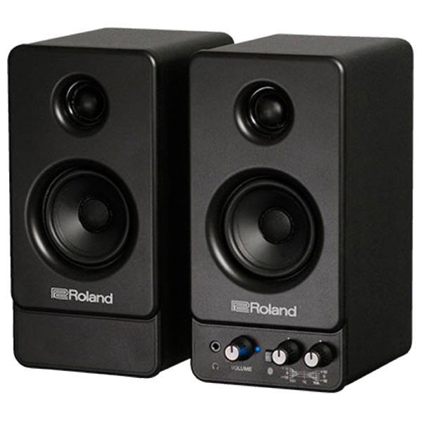 ローランド Bluetooth対応モニタースピーカー(2本1組) STEREO MICRO MONITOR ブラック MA-22BT [MA22BT]