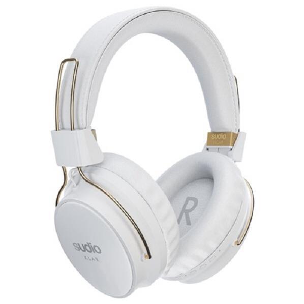 Sudio ワイヤレスステレオヘッドフォン KLAR ホワイト SD-0035 [SD0035]