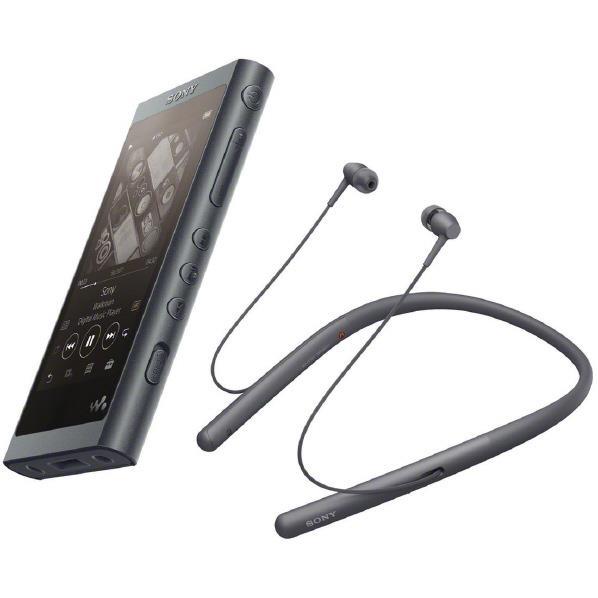 SONY デジタルオーディオプレイヤー(16GB) ウォークマン Aシリーズ グレイッシュブラック NW-A55WI B [NWA55WIB]【RNH】
