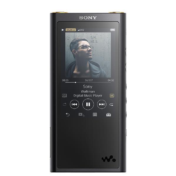 SONY デジタルオーディオプレイヤー(128GB) ウォークマン ZXシリーズ NW-ZX300G B [NWZX300GB]【RNH】
