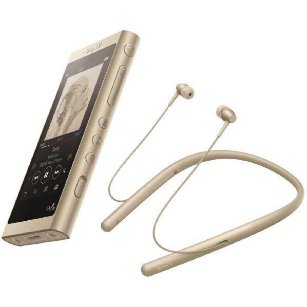 SONY デジタルオーディオプレイヤー(16GB) ウォークマン Aシリーズ ペールゴールド NW-A55WI N [NWA55WIN]【RNH】