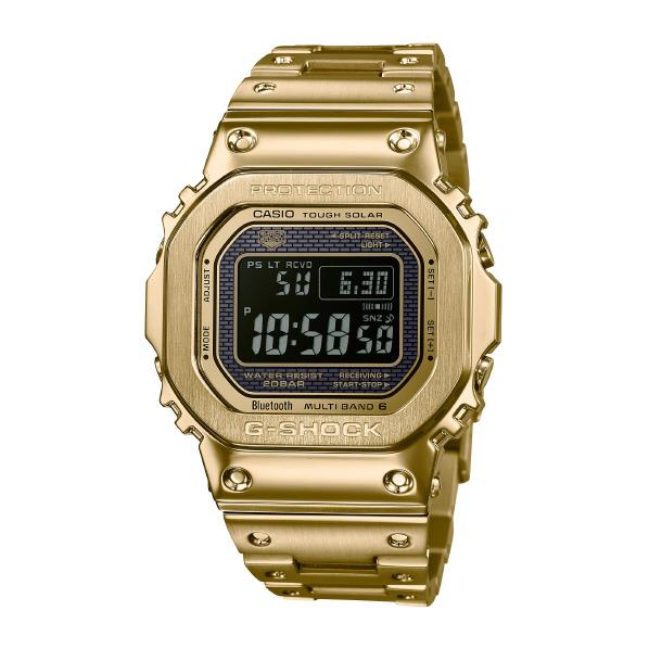 カシオ ソーラー電波腕時計 G-SHOCK ゴールドIP GMW-B5000GD-9JF [GMWB5000GD9JF]