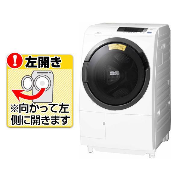 日立 【左開き】10.0kgドラム式洗濯乾燥機 ビッグドラム ホワイト BD-SG100CL W [BDSG100CLW]【RNH】