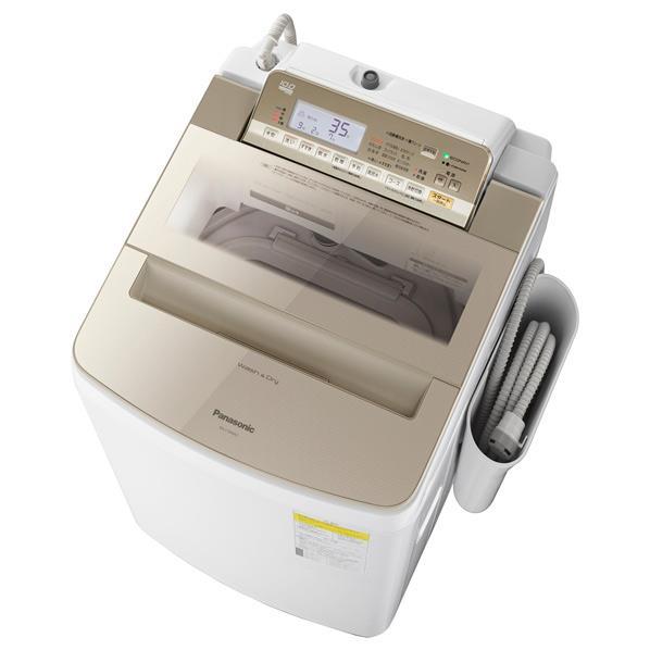 パナソニック 10.0kg洗濯乾燥機 オリジナル シャンパン NA-F10WE6-N [NAF10WE6N]【RNH】