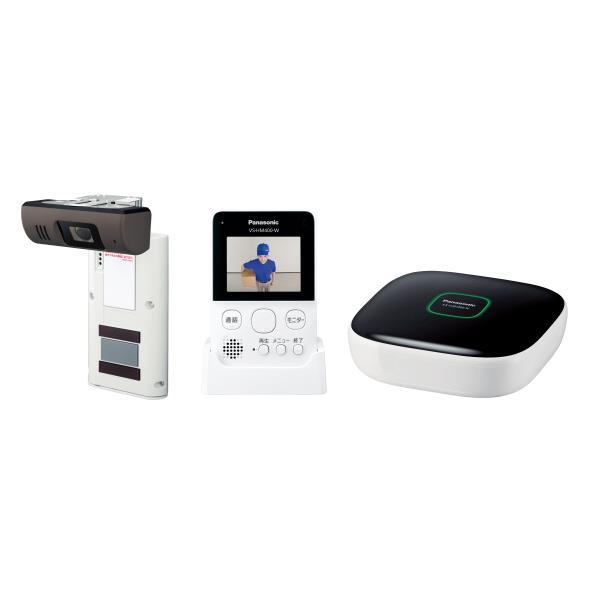 パナソニック モニター付きドアカメラキット スマ@ホーム システム ホワイト VS-HC400K-W [VSHC400KW]