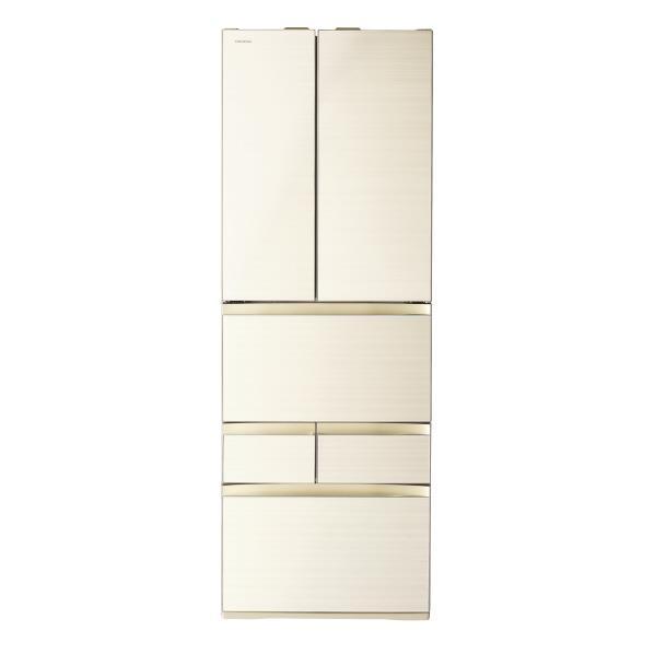 東芝 462L 6ドアノンフロン冷蔵庫 VEGETA ラビスアイボリー GRP460FWZC [GRP460FWZC]【RNH】