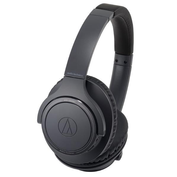 オーディオテクニカ ワイヤレスヘッドフォン ブラック ATH-SR30BT BK [ATHSR30BTBK]【RNH】