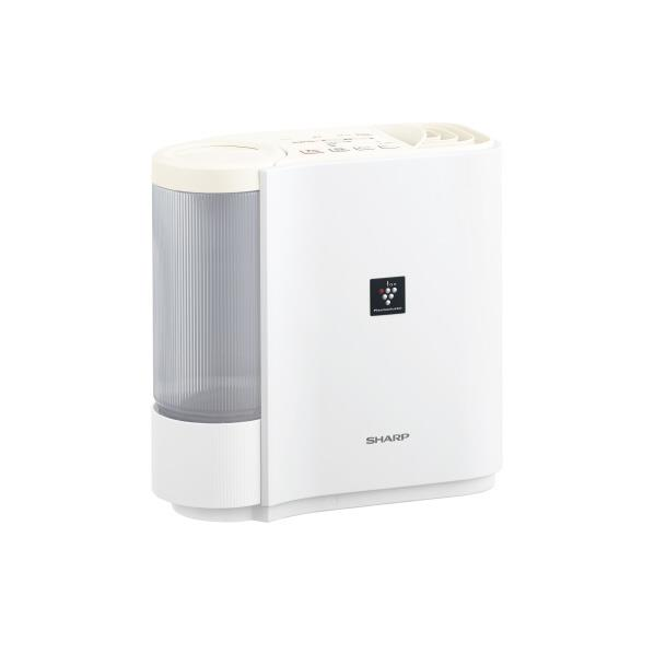 SHARP 気化式加湿器 KuaL アイボリーホワイト HVH30E6W [HVH30E6W]【RNH】