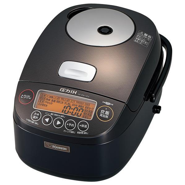 象印 圧力IH炊飯ジャー(5.5合炊き) KuaL 極め炊き ダークブラウン NP-BW10E6-TD [NPBW10E6TD]【RNH】