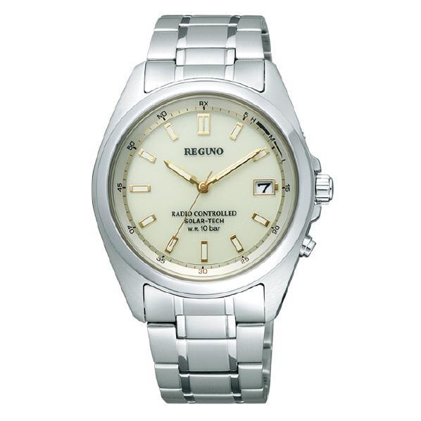 シチズン ソーラーテック電波腕時計 レグノ シャンパン RS25-0341 [RS250341]