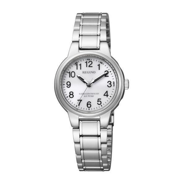 シンプルデザインのソーラーテック電波時計。 シチズン ソーラーテック電波腕時計(レディスモデル) レグノ KL9-119-95 [KL911995]【MSSP】