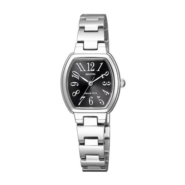 シチズン 腕時計 レグノ ソーラーテック 黒 KP1-110-51 [KP111051]