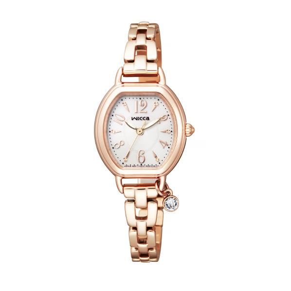 シチズン ソーラーテック腕時計 ウィッカ パールホワイト KP2-566-91 [KP256691]