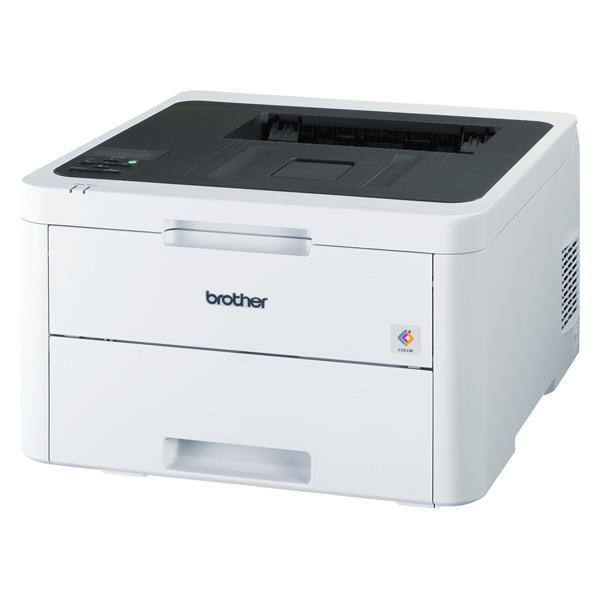 ブラザー A4カラーレーザープリンター JUSTIO ホワイト&ダークグレー HL-L3230CDW [HLL3230CDW]【MMARP】