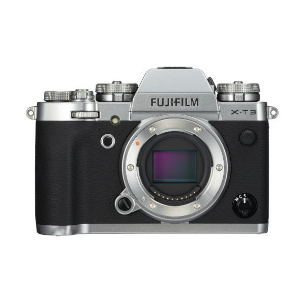 富士フイルム デジタル一眼カメラ・ボディ X-T3 シルバー FXT3S [FXT3S]【RNH】【NATUM】