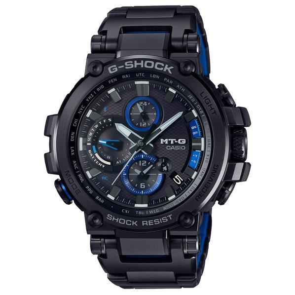 カシオ ソーラー電波腕時計 G-SHOCK MT-G ブラック青の差し色 MTG-B1000BD-1AJF [MTGB1000BD1AJF]