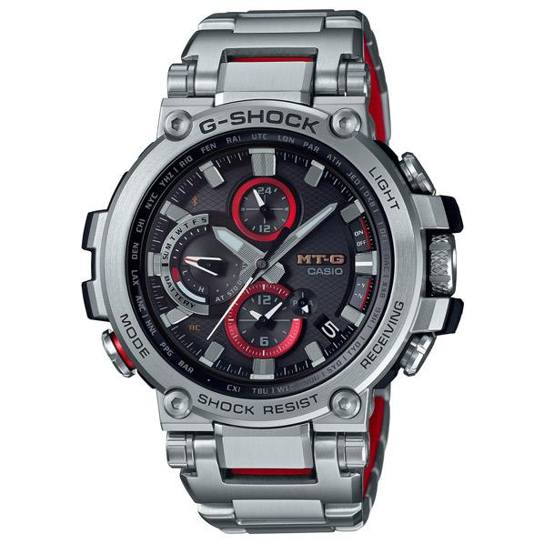 カシオ ソーラー電波腕時計 G-SHOCK MT-G ブラック赤の差し色 MTG-B1000D-1AJF [MTGB1000D1AJF]
