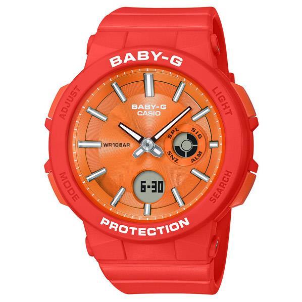カシオ 腕時計 BABY-G WANDERER SERIES オレンジ BGA-255-4AJF [BGA2554AJF]