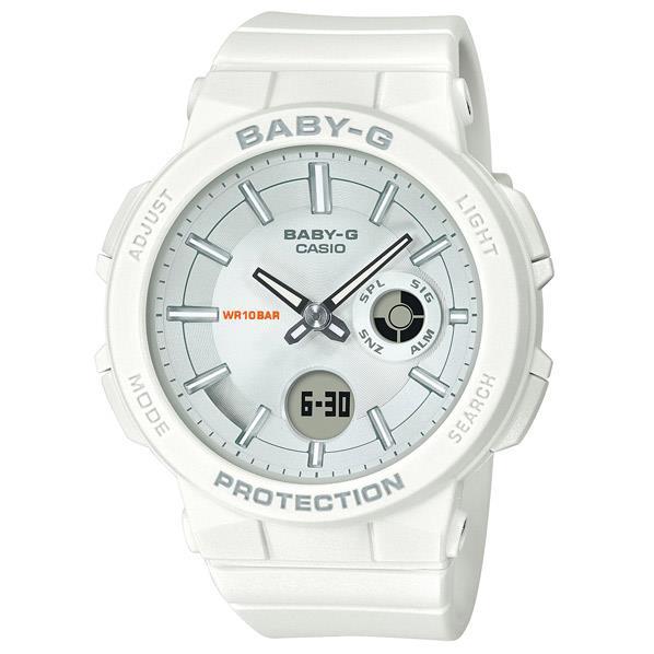 カシオ 腕時計 BABY-G WANDERER SERIES ホワイト BGA-255-7AJF [BGA2557AJF]