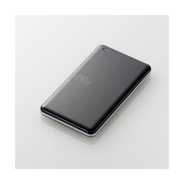 エレコム USB3.1(Gen1)対応外付けポータブルSSD(240GB) ESD-EDシリーズ ブラック ESD-ED0240GBK [ESDED0240GBK]