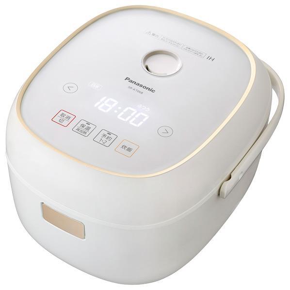 パナソニック IH炊飯ジャー(3.5合炊き) ホワイト SR-KT068-W [SRKT068W]【RNH】