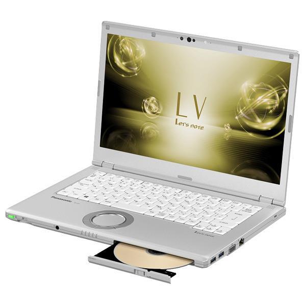 パナソニック ノートパソコン Let's note LVシリーズ シルバー CF-LV7HDFQR [CFLV7HDFQR]【RNH】