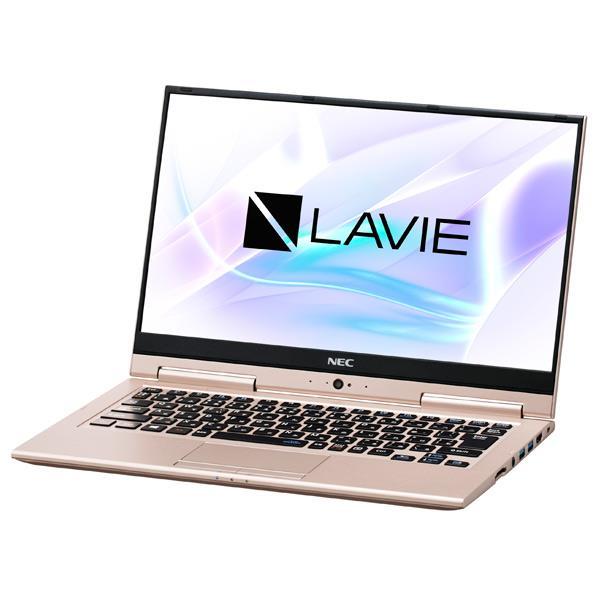 NEC ノートパソコン LaVie Hybrid ZERO フレアゴールド PC-HZ550LAG [PCHZ550LAG]【RNH】