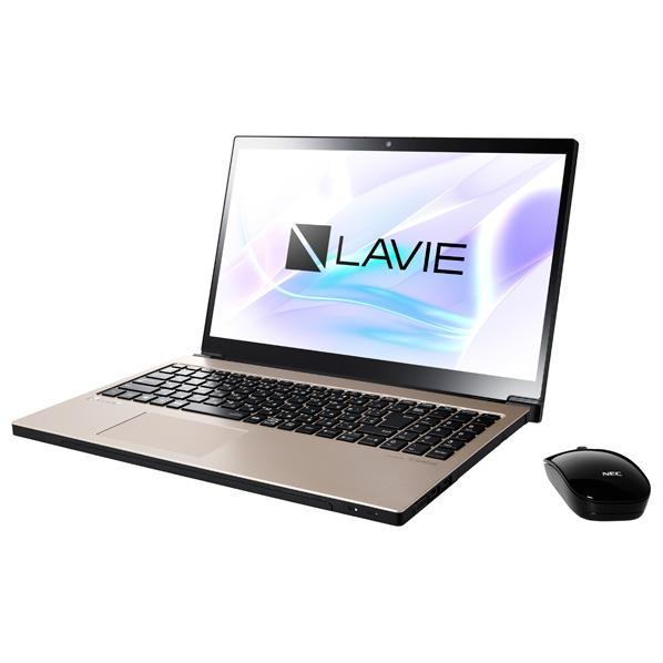 NEC ノートパソコン KuaL LaVie Note NEXT クレストゴールド PC-NX850LAG-E3 [PCNX850LAGE3]【RNH】