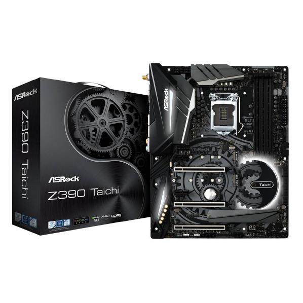 ASROCK ASRock LGA1151 Intel Z390 ATX マザーボード ASRock Z390 シリーズ Z390 TAICHI [Z390TAICHI]