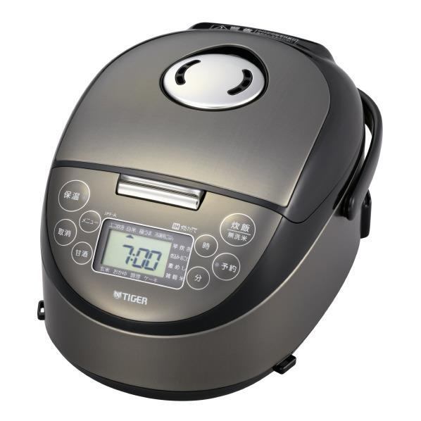 タイガー IH炊飯ジャー(3合炊き) 炊きたて サテンブラック JPF-A550K [JPFA550K]【RNH】