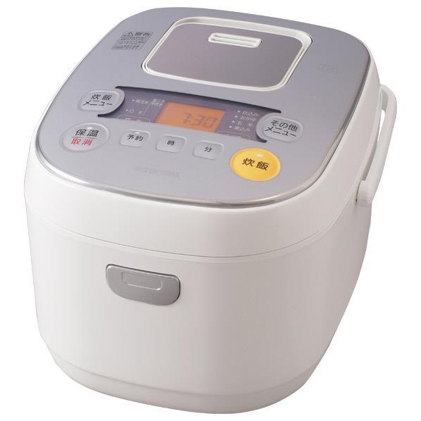 アイリスオーヤマ IH炊飯ジャー(5.5合炊き) 米屋の旨み ERC-IE50-W [ERCIE50W]【RNH】