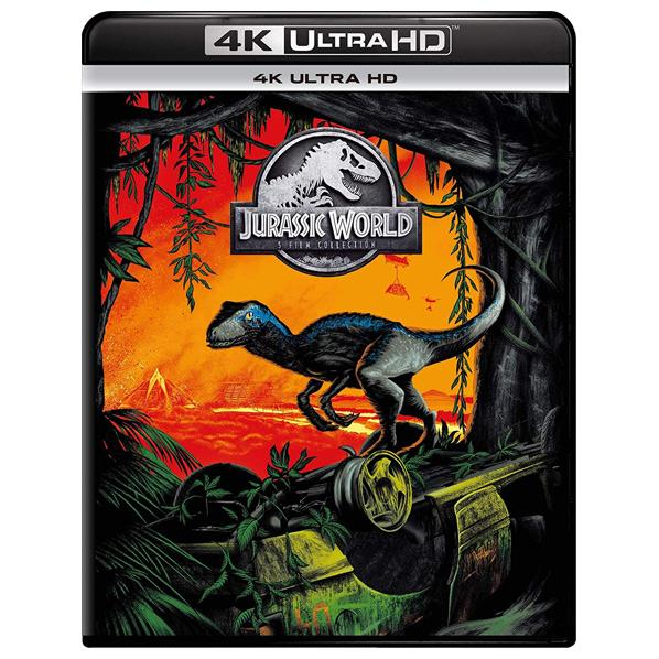 燃えさかる火山の島から恐竜たちを救出できるのか? NBCユニバーサル ジュラシック ワールド 5ムービー 4K GNXF-2404 UHD 限定Special Price GNXF2404 Blu-ray コレクション [宅送]