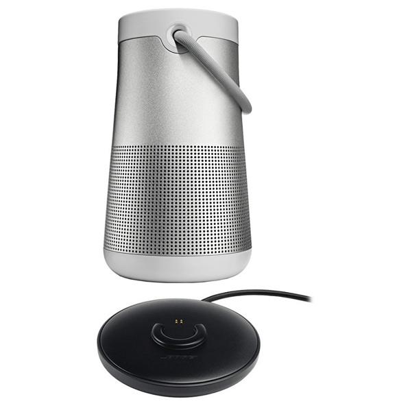BOSE Bluetoothスピーカー + 充電クレイドルセット SoundLink Revolve+ ラックスグレイ SLINKREVOLVEPLUSGRYCRADLE [SLINKREVOLVEPLUSGRYCRADLE]【RNH】