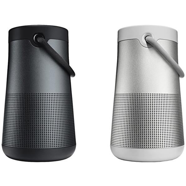 BOSE Bluetoothスピーカー SoundLink Revolve+ 2個セット ブラック/ラックスグレイ SLINKREVOLVEPLUSBLK+GRY [SLINKREVOLVEPLUSBLK+GRY]