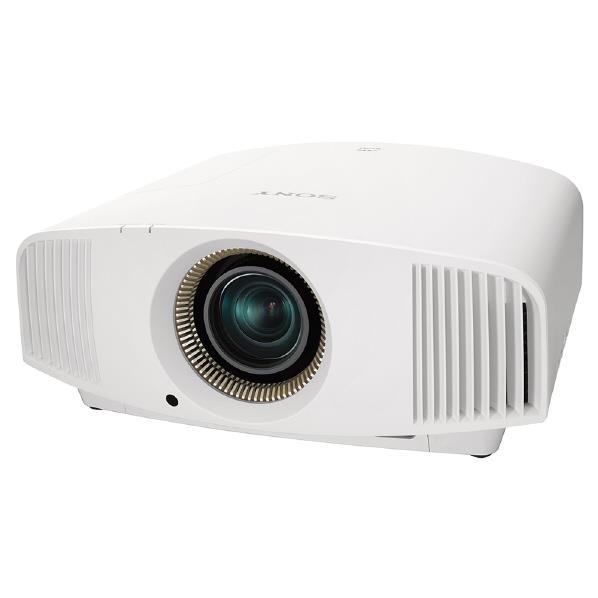 SONY 4K HDRホームシアタープロジェクター プレミアムホワイト VPL-VW555 W [VPLVW555W]【RNH】