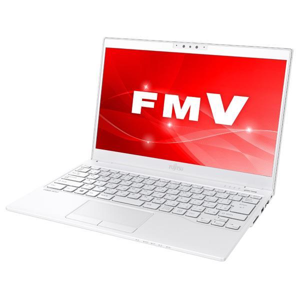 富士通 ノートパソコン LIFEBOOK アーバンホワイト FMVU75C3W [FMVU75C3W]【RNH】