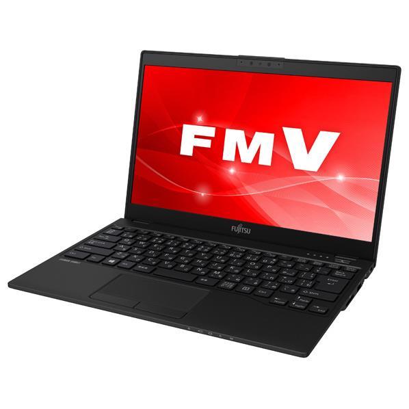 富士通 ノートパソコン KuaL LIFEBOOK ピクトブラック FMVU90C3BG [FMVU90C3BG]【RNH】