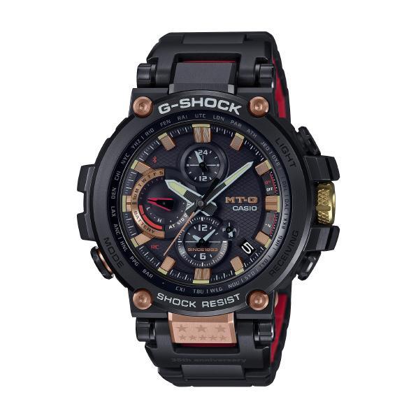 カシオ ソーラー電波腕時計 G-SHOCK MT-G 35th Anniversary MAGMA OCEAN ブラック・ローズゴールド MTG-B1000TF-1AJR [MTGB1000TF1AJR]