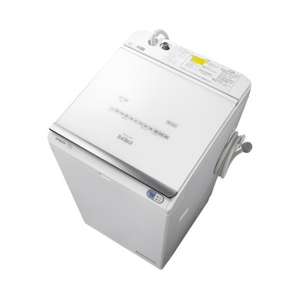 日立 12.0kg洗濯乾燥機 ビートウォッシュ ホワイト BW-DX120C W [BWDX120CW]【RNH】