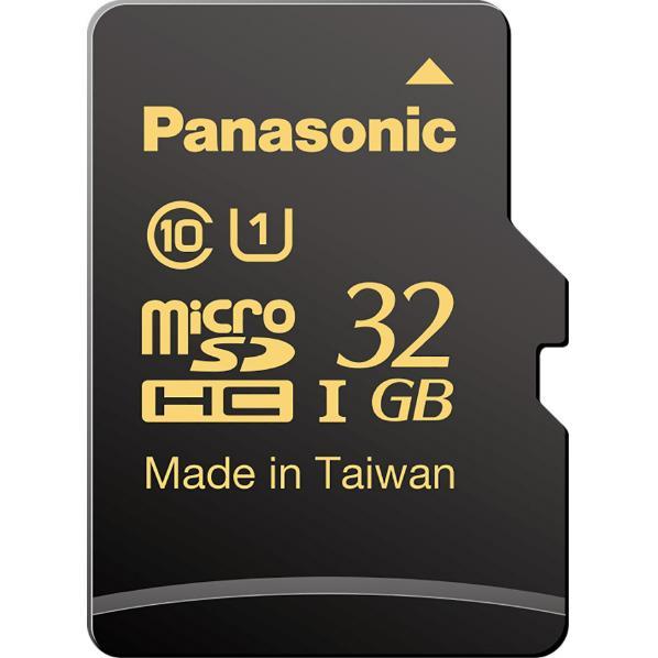 パナソニック microSDHC UHS-Iカード (32GB) RP-SMHA32GJK [RPSMHA32GJK]