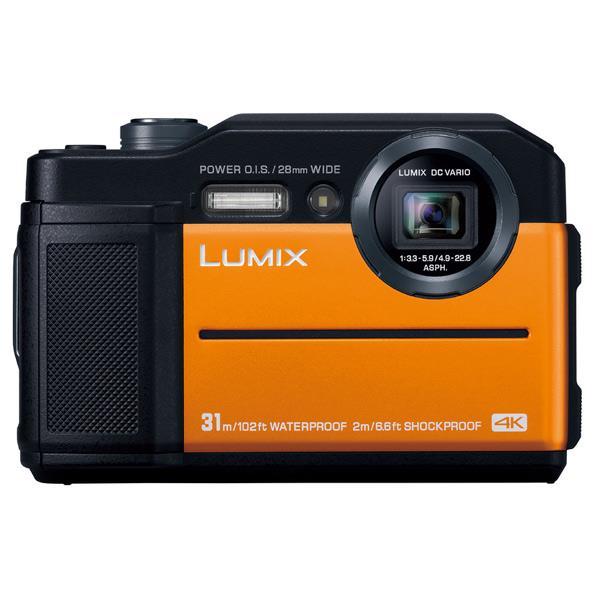 パナソニック デジタルカメラ LUMIX オレンジ DC-FT7-D [DCFT7D]【RNH】