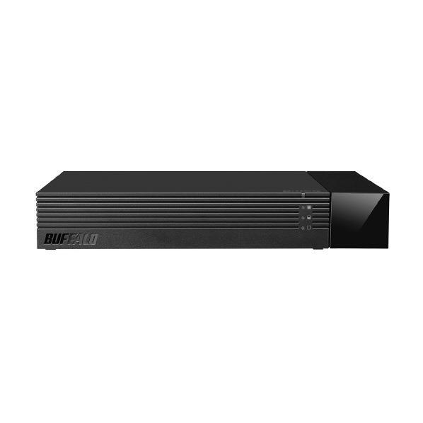 BUFFALO 24時間録画対応 使用量メーター搭載 外付HDD(4TB) ブラック HDV-SAM4.0U3-BKA [HDVSAM40U3BKA]【RNH】【MVSP】