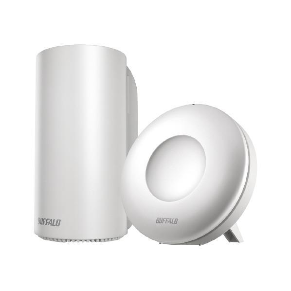 BUFFALO 無線LANルーター スターターキット(親機1台・中継器1台) WRM-D2133HP/E1S [WRMD2133HPE1S]【RNH】