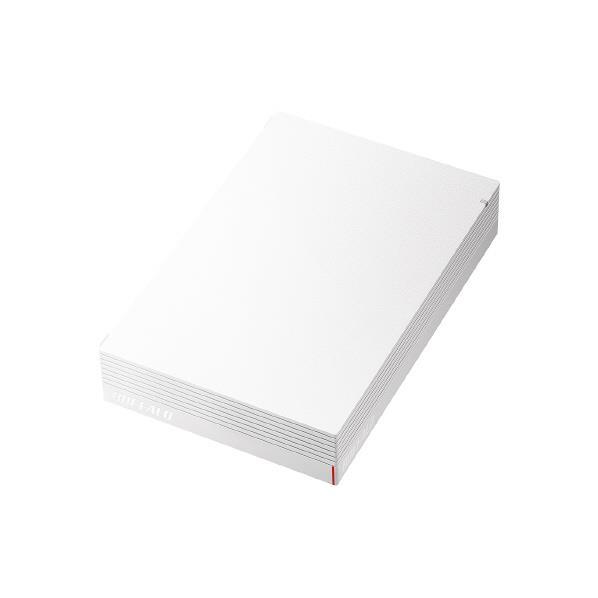 BUFFALO 外付けHDD(2TB) ホワイト HD-LDS2.0U3-WA [HDLDS20U3WA]【RNH】