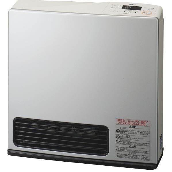 大阪ガス 【都市ガス用】ガスファンヒーター エコモデル ライトシルバー 1-140-9463 [N1409463]