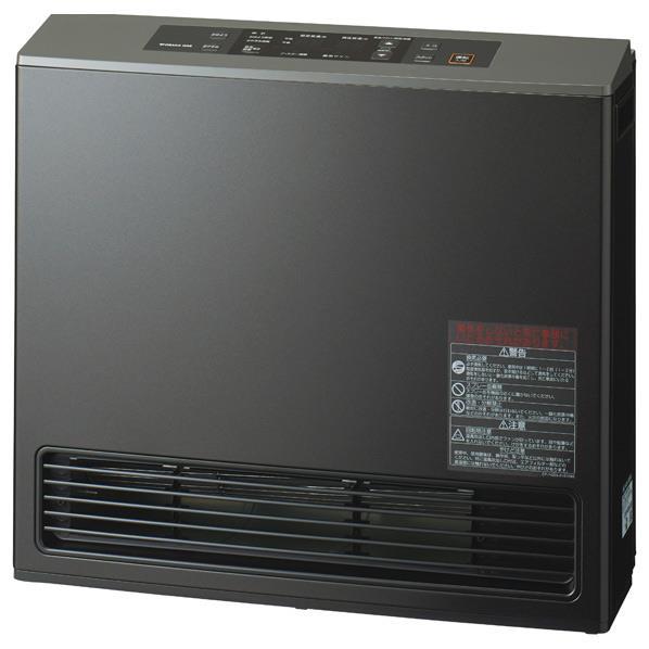 大阪ガス 【都市ガス用】ガスファンヒーター エコモデル ピアノブラック 1-140-9395 [N1409395]