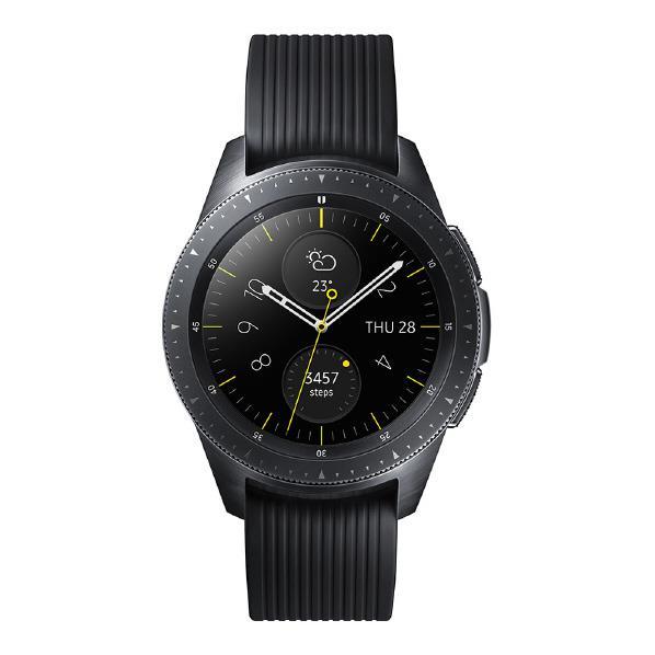 サムスン Galaxy Watch(42mm) ミッドナイトブラック SM-R810NZKAXJP [SMR810NZKAXJP]