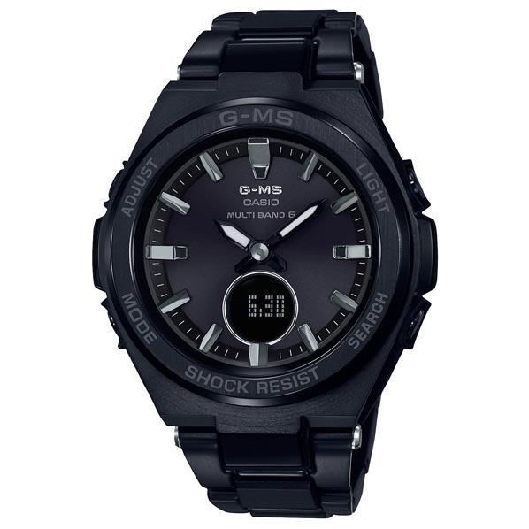 カシオ 腕時計 BABY-G G-MS ブラック MSG-W200CG-1AJF [MSGW200CG1AJF]