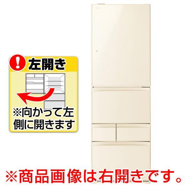 東芝 【左開き】411L 5ドアノンフロン冷蔵庫 ラピスアイボリー GR-P41GXVL(ZC) [GRP41GXVLZC]【RNH】